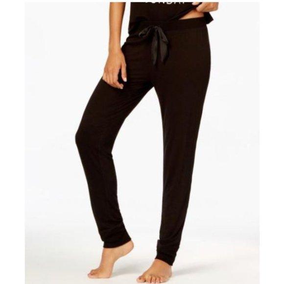 Jenni by Jennifer Moore Jogger Pajama Pants Black